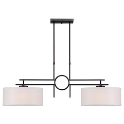 Forte Open Box 2 Light Island Pendant