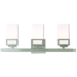 Livex Lighting 3 Lt Bn Bath Vanity