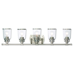 Livex Lighting 5 Lt Bn Bath Vanity