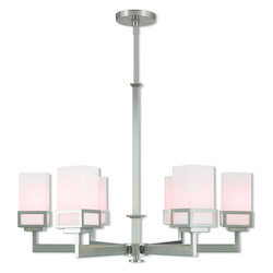 Livex Lighting 6 Lt Bn Chandelier