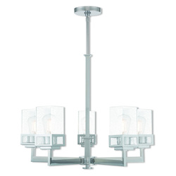 Livex Lighting 5 Lt Ch Chandelier