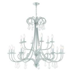 Livex Lighting 18 Lt Ch Foyer Chandelier