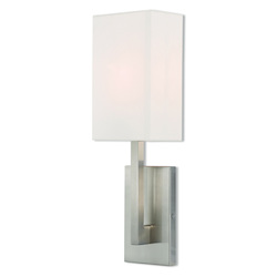 Livex Lighting 1 Lt Bn Ada Wall Sconce