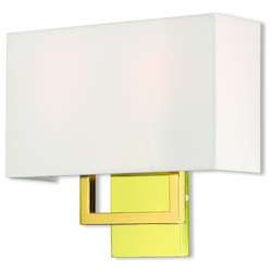 Livex Lighting 2 Lt Pb Ada Wall Sconce