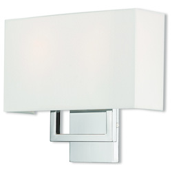 Livex Lighting 2 Lt Ch Ada Wall Sconce