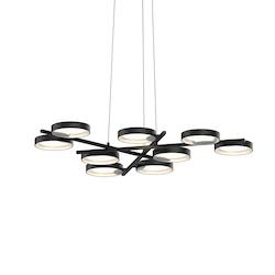 Sonneman 9-Light Led Pendant
