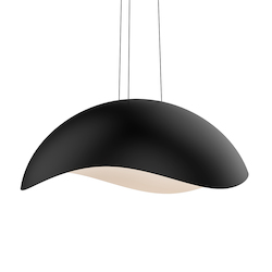 Sonneman Large Dome Led Pendant