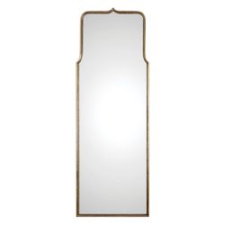 Uttermost Adelasia Antiqued Gold Mirror
