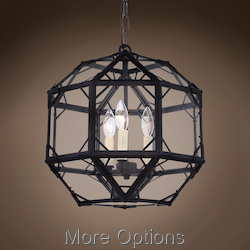 Parisian Octagonal 3 Light 14