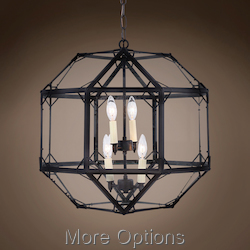Parisian Octagonal 4 Light 19