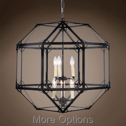 Parisian Octagonal 6 Light 24