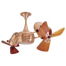 Duplo Dinamico-Polished Copper-Wood