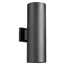 Quorum Cylinder 2Lt 6In. Lant Black