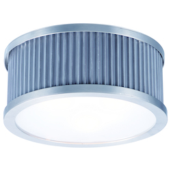 Maxim Ruffle-Flush Mount