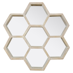 Varaluz Honeycomb Accent Mirror