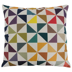 Varaluz Chevron Square Throw Pillow