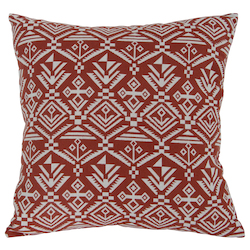 Varaluz Natural Linen / Canvas Square Throw Pillow