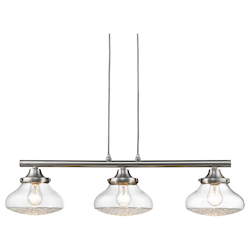 Golden 3 Light Linear Pendant
