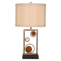 Van Teal Wheels Of Friendship Table Lamp 31