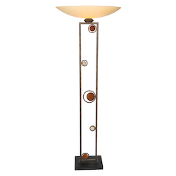 Van Teal Wheels Of Passion Floor Lamp Torchiere 70