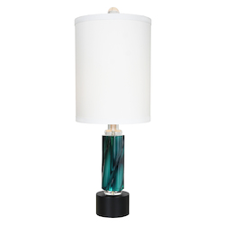 Van Teal Rhapsody Teal Table Lamp 30.5