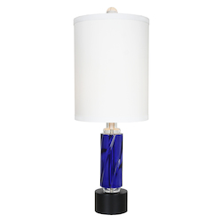 Van Teal Blue Rhapsody Table Lamp 30.5