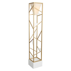 Van Teal Tower Center Floor Lamp Torchiere 71