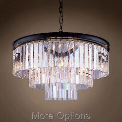 Glass Fringe 9 Light 26