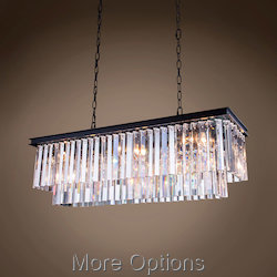 Glass Fringe 12 Light 40
