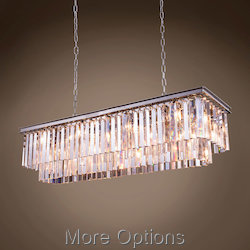 Glass Fringe 12 Light 50