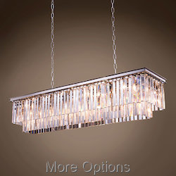 Glass Fringe 12 Light 60