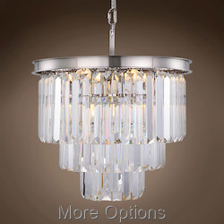 Glass Fringe 9 Light 20