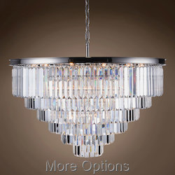 Glass Fringe 33 Light 44