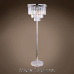 Glass Fringe 8 Light 63
