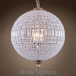 19Th C. Casbah 5 Light 24