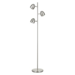 CAL Lighting Led 6W X 3 Metal Tree Floor Lamp With Touch Sensor Dimmer Control On Each Light