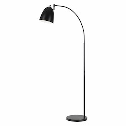 CAL Lighting 60W Garnett Metal Arc Floor Lamp