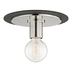 Hudson Valley 1 Light Small Flush Mount