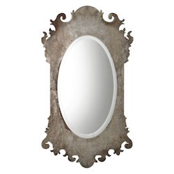 Uttermost Uttermost Vitravo Oxidized Silver Oval Mirror