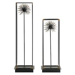 Uttermost Uttermost Flowering Dandelions Sculptures Set/2