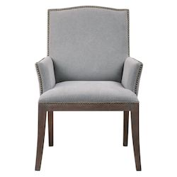 Uttermost Uttermost Lantry Stony Gray Accent Chair