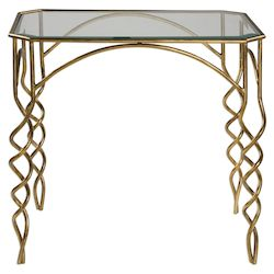 Uttermost Uttermost Lora Gold End Table