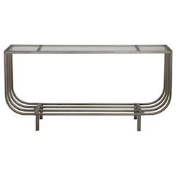 Uttermost Uttermost Arlice Bright Silver Console Table