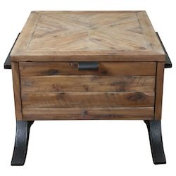 Uttermost Uttermost Brodie Natural Wood Accent Table