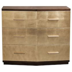 Uttermost Uttermost Verdura Brushed Gold Accent Chest