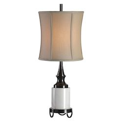 Uttermost Uttermost Molveno Ivory Marble Table Lamp
