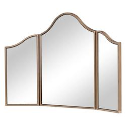 Elegant Decor MF6-1105G Dressing Mirror 39 In. X 24 In. In Gold Paint