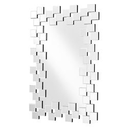 Elegant Decor MR9157 Sparkle 47 In. Contemporary Rectangle Mirror In Clear