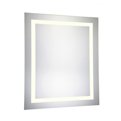 Elegant Decor MRE-6041 4 Sides Led Electric Mirror Rectangle W32