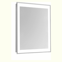 Elegant Decor MRE-6104 4 Sides Led Edge Electric Mirror Rectangle W24